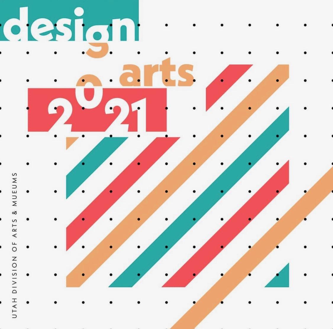 A graphic for Design Arts Utah '21.