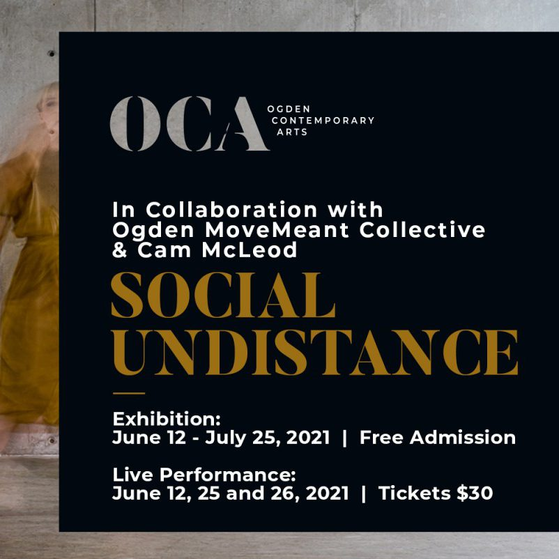 Information about the Social Undistance exhibition.