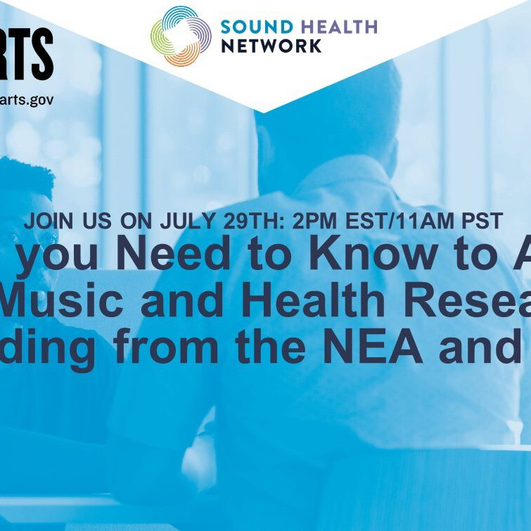 What you need to know to apply for music and health research funding from the NEA and NIH.