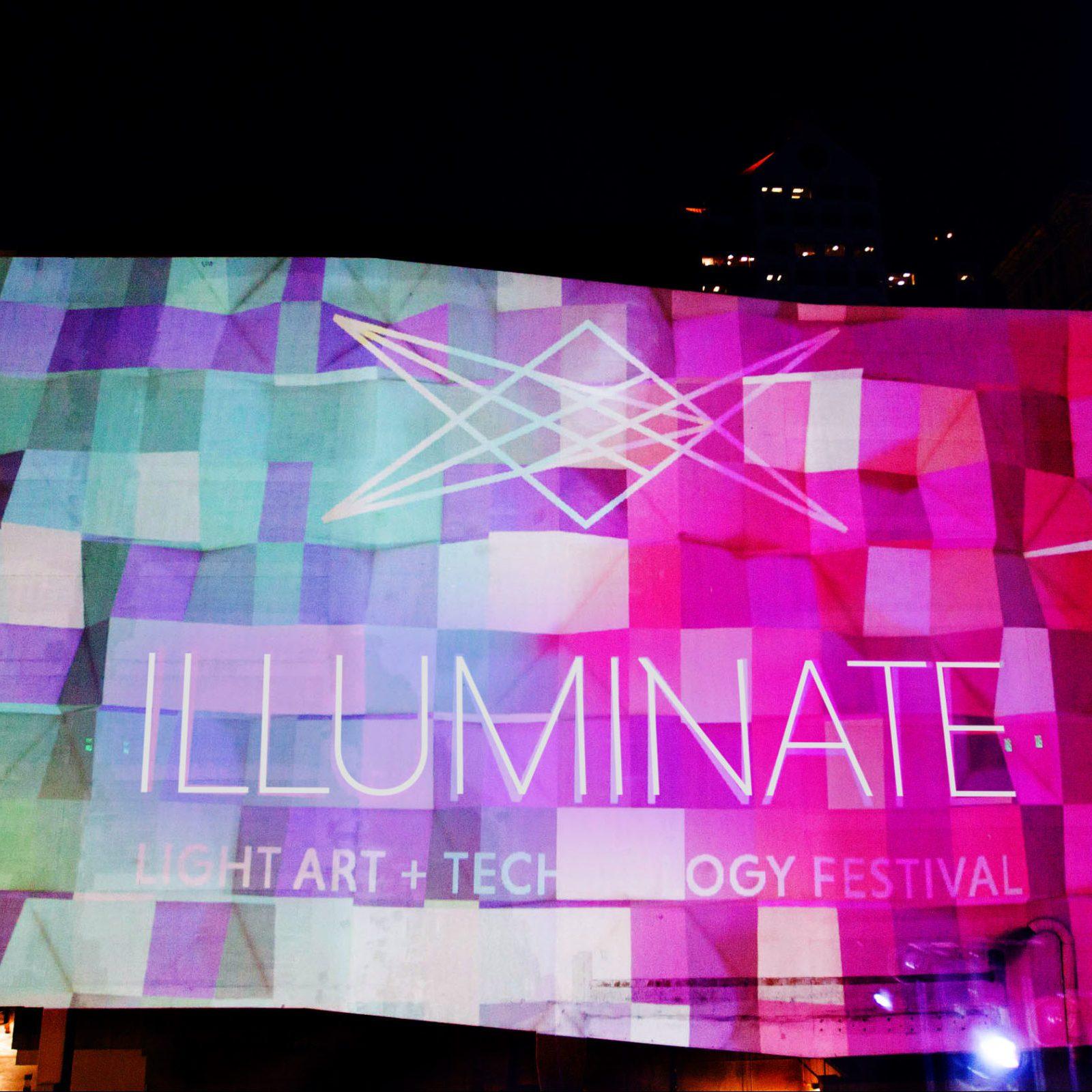 Illuminate Light Art and Technology Festival.